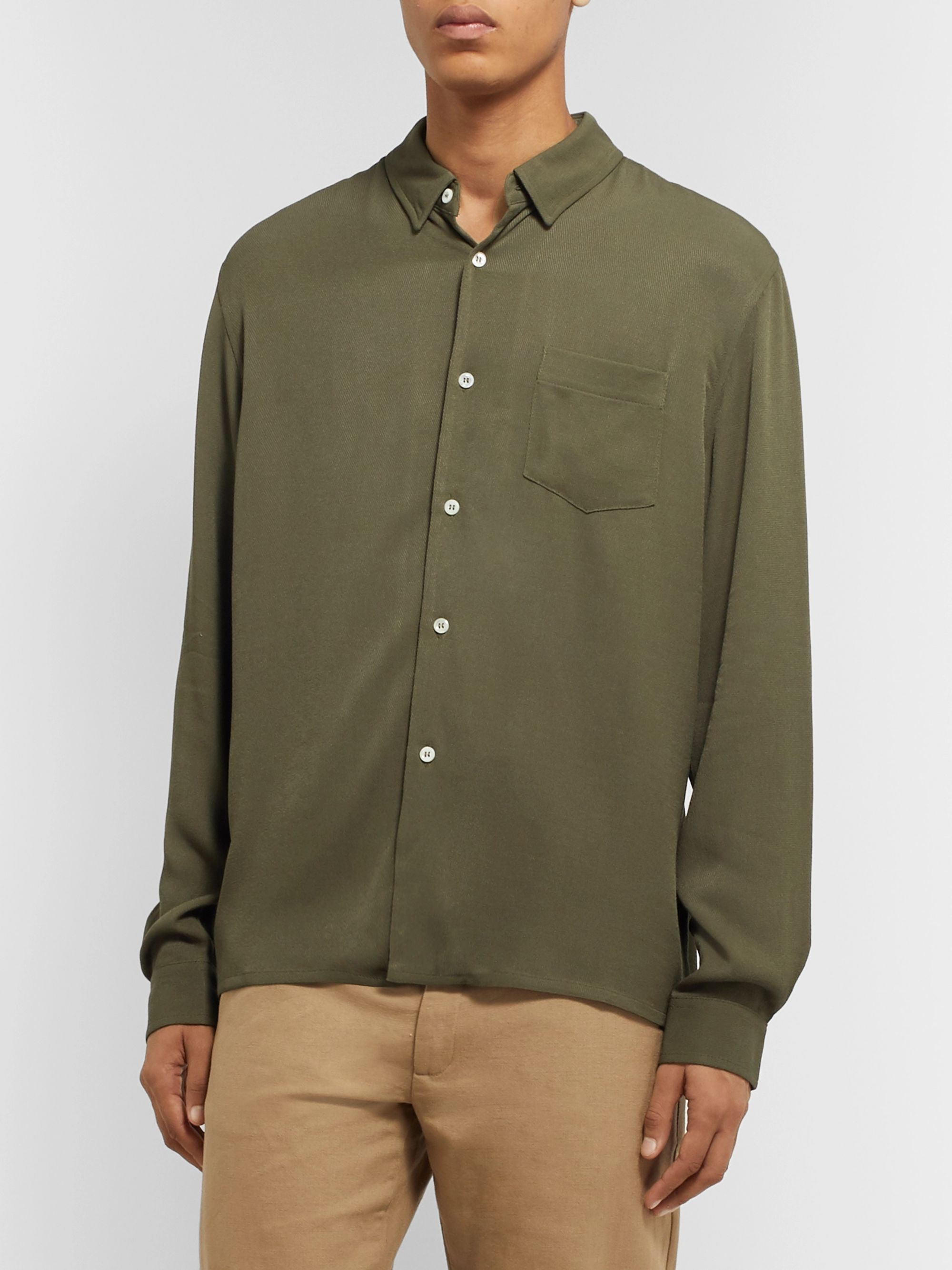 Séfr Hampus Crepe Shirt