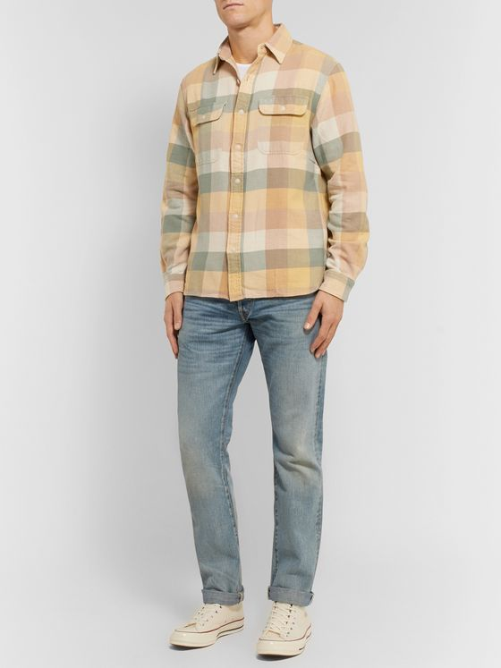 RRL Checked Cotton Shirt