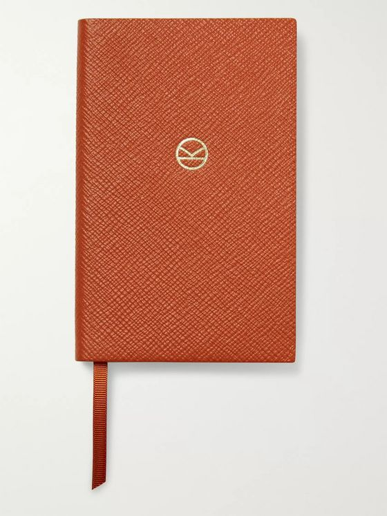 KINGSMAN + Smythson Panama Cross-Grain Leather Notebook