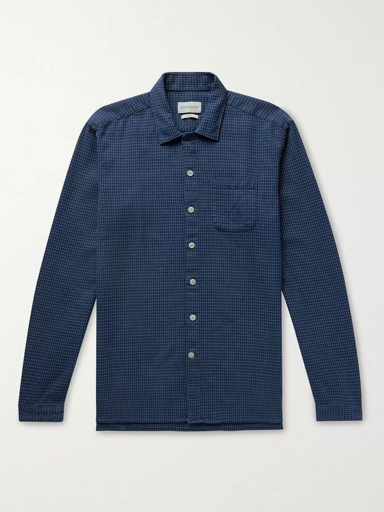 Oliver Spencer Checked Cotton Shirt