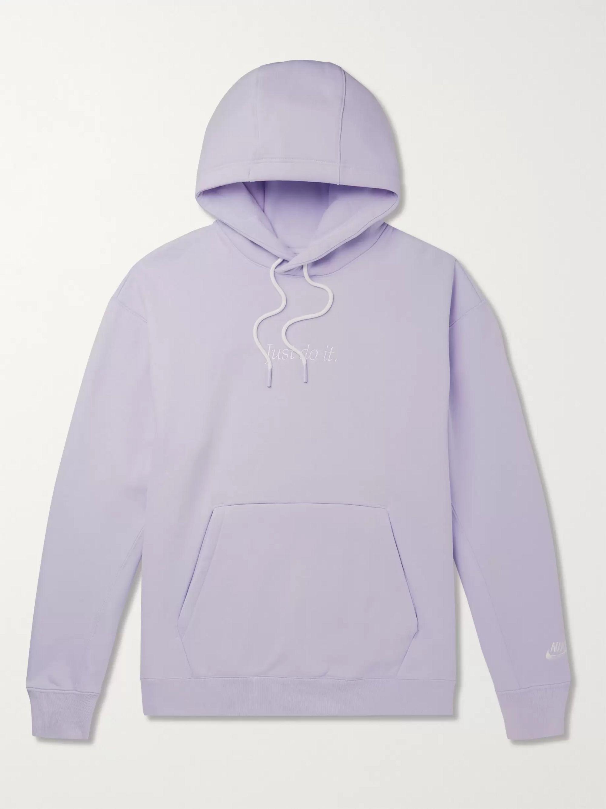 nike hoodie lilac