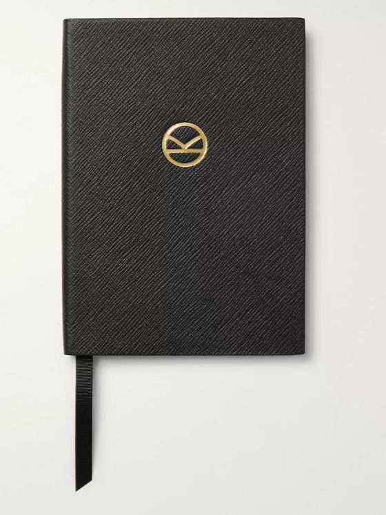 Kingsman + Smythson Soho Cross-Grain Leather Notebook