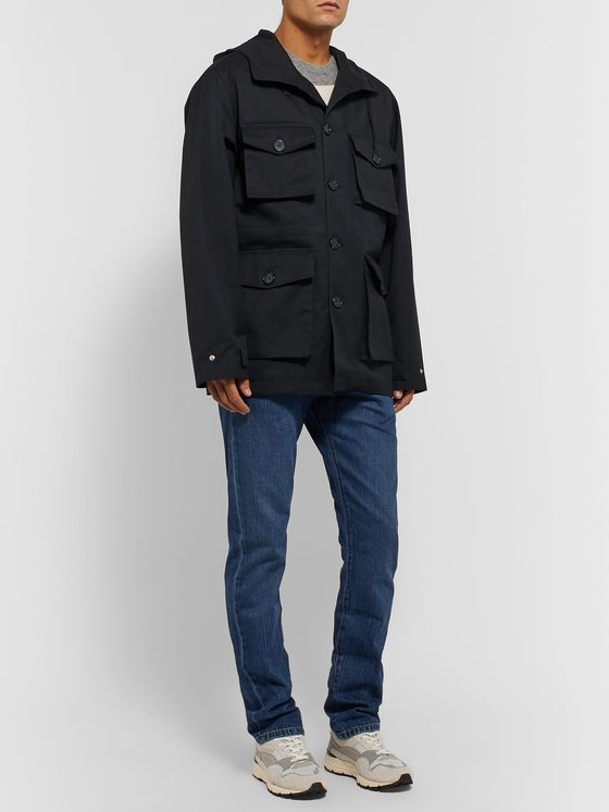 Officine Generale Brett Twill Field Jacket