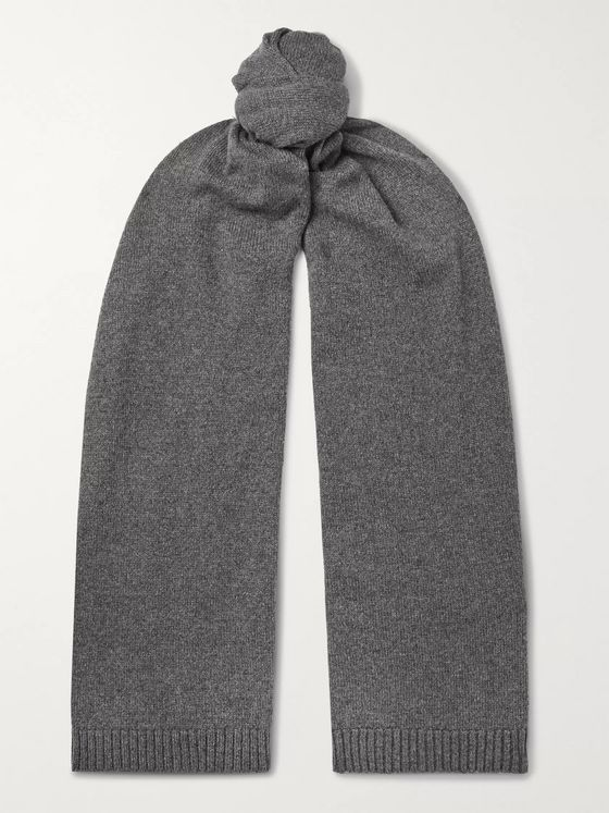 OFFICINE GÉNÉRALE Cashmere and Wool-Blend Scarf