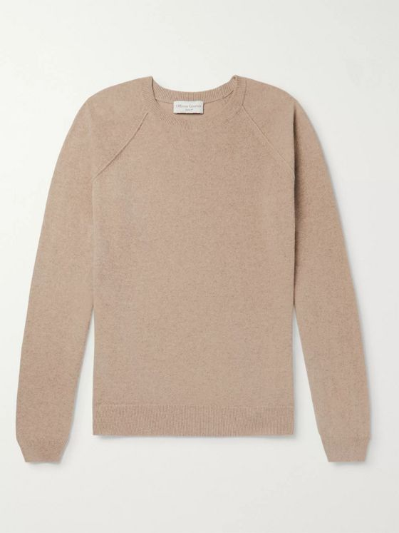 Officine Generale Cashmere and Wool-Blend Sweater