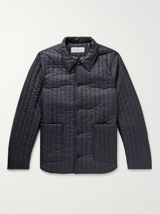 Officine Generale Theo Quilted Shell Jacket