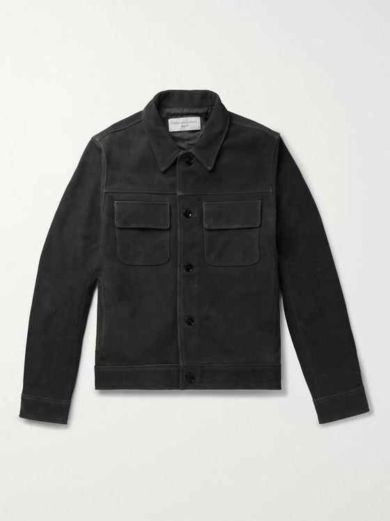 Officine Generale Otto Suede Jacket