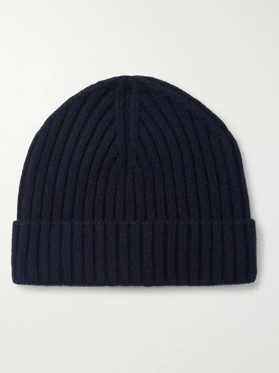 Officine Generale Cashmere and Wool-Blend Beanie