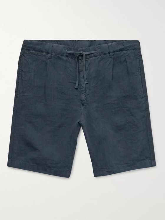 Hartford Linen Drawstring Shorts