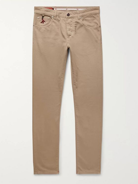 Isaia Slim-Fit Denim Jeans