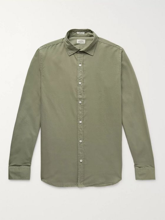 Hartford Slim-Fit Cotton Shirt
