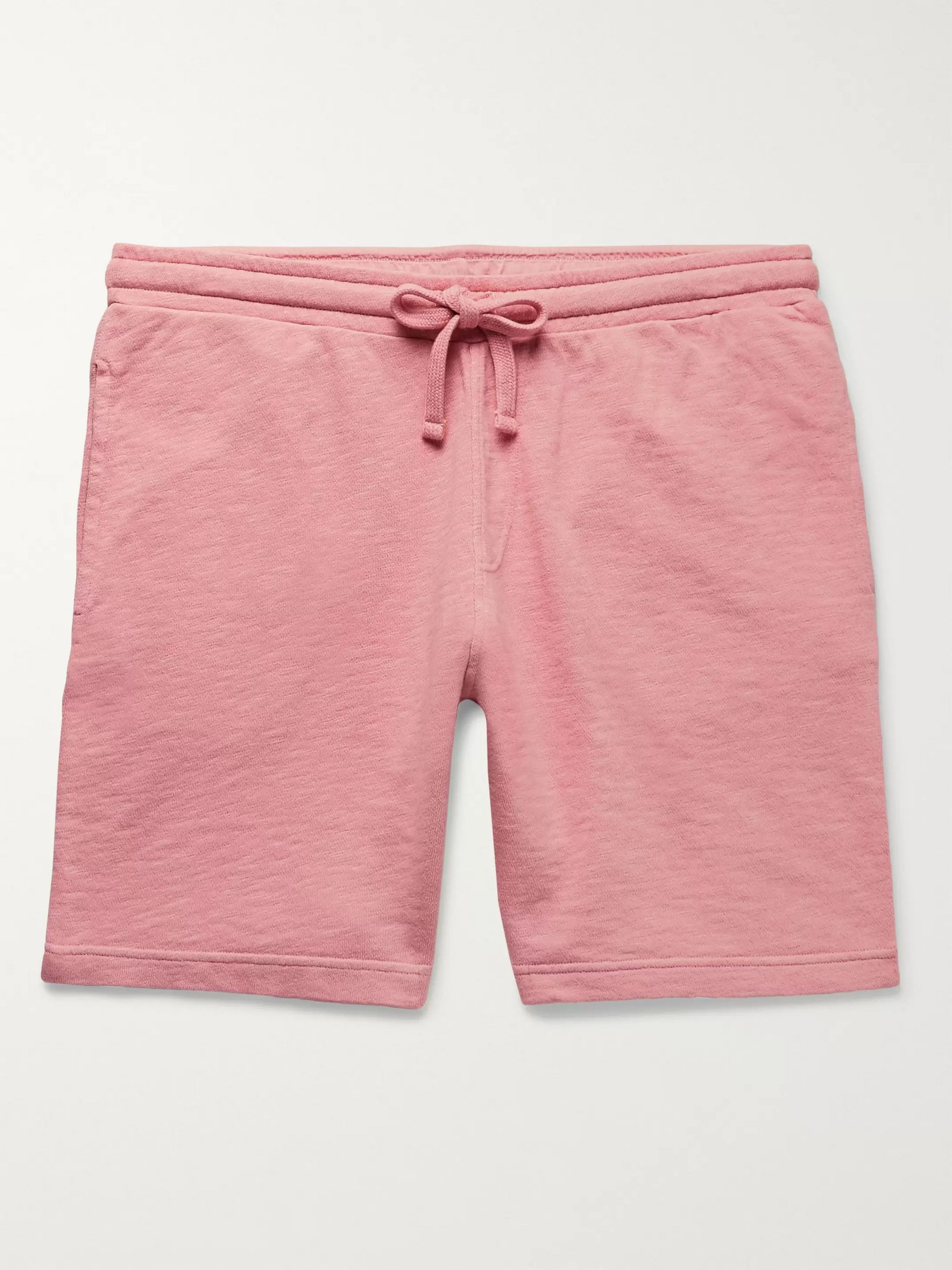 Hartford Mélange Loopback Cotton-Jersey Drawstring Shorts