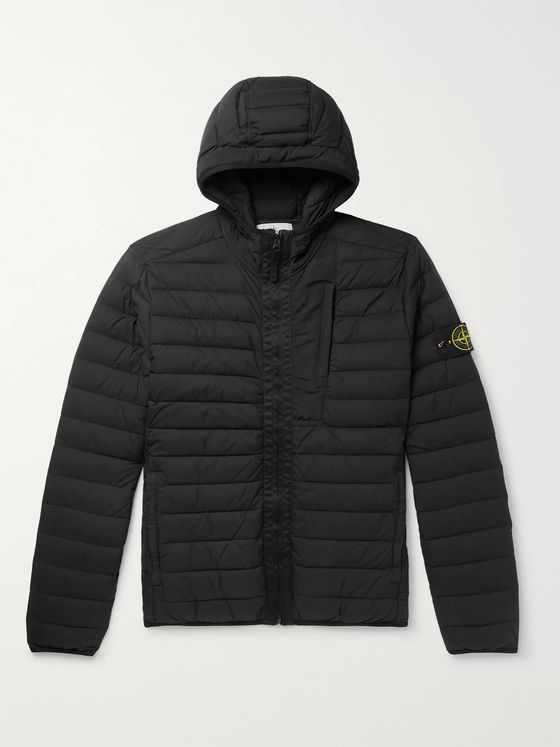Stone Island Quilted Shell Down Jacket