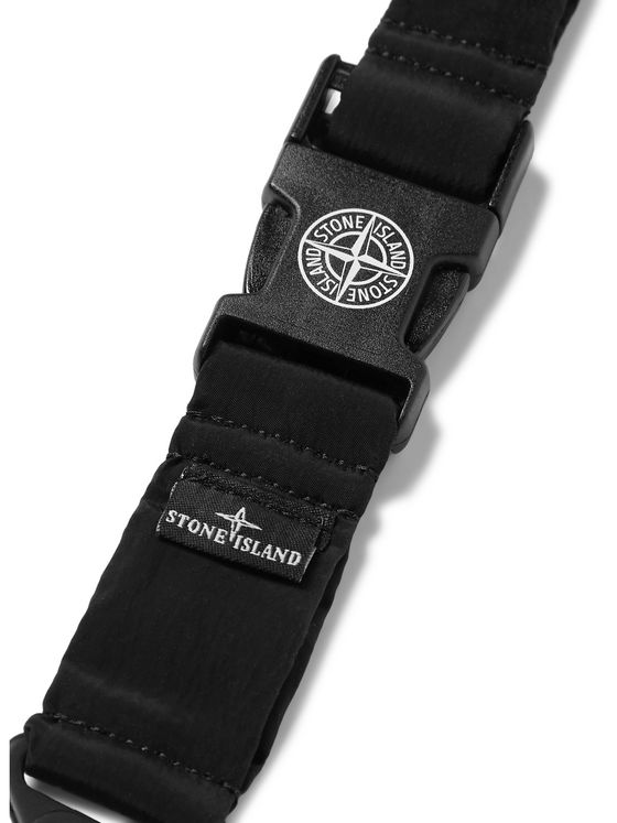 Stone Island Logo-Detailed Elasticated Nylon Lanyard