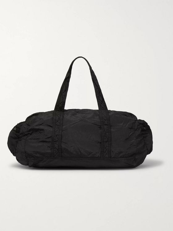 Stone Island Packable Garment-Dyed Nylon Metal Holdall