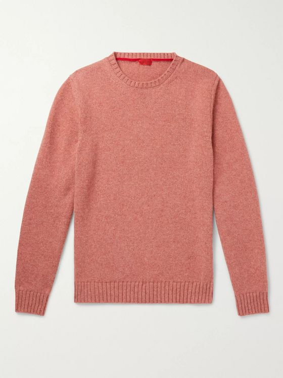 Isaia Slim-Fit Cashmere Sweater