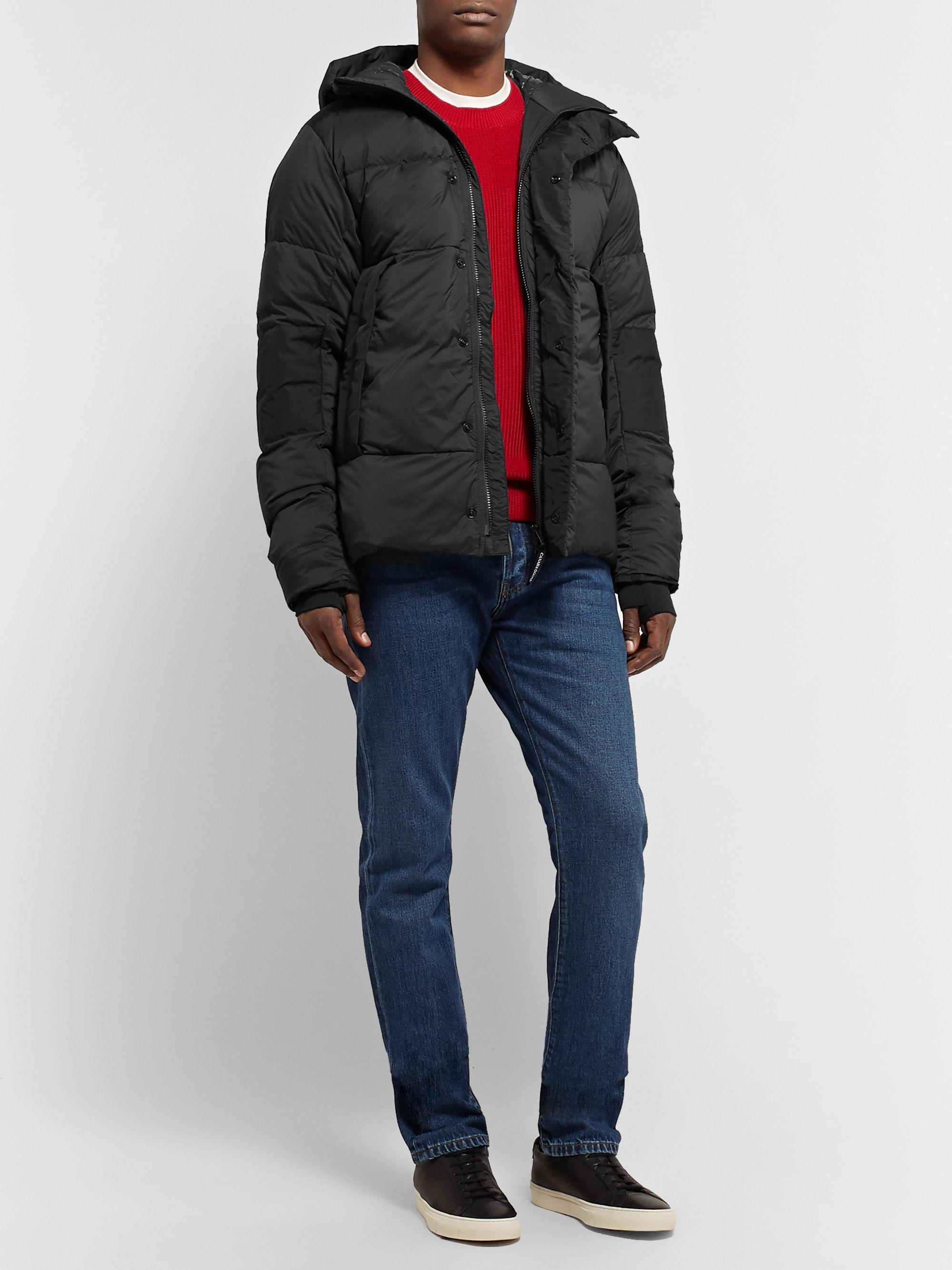 Canada Goose Armstrong Packable Quilted Nylon-Ripstop Hooded Down Jacket
