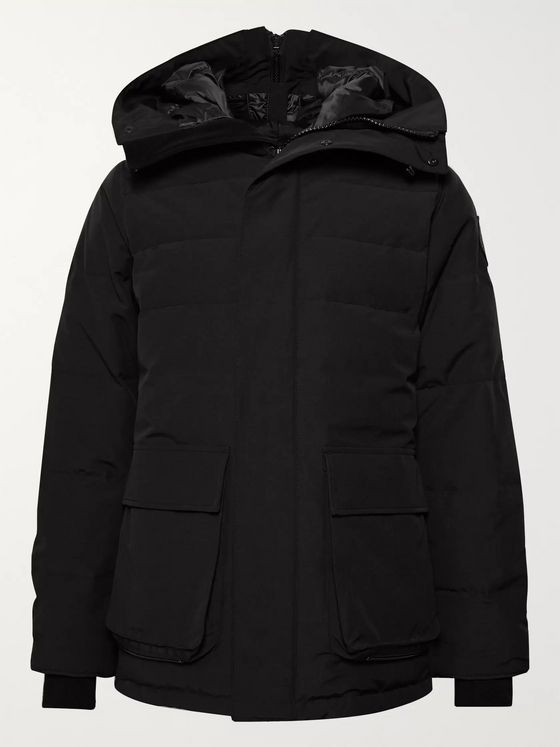 CANADA GOOSE Wedgemount Quilted Arctic Tech Hooded Down Parka