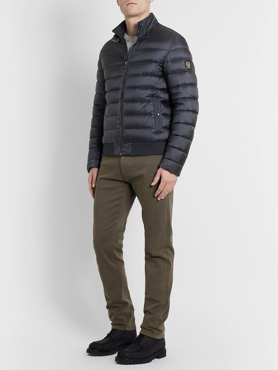 Belstaff Circuit Slim-Fit Quilted Shell Down Jacket