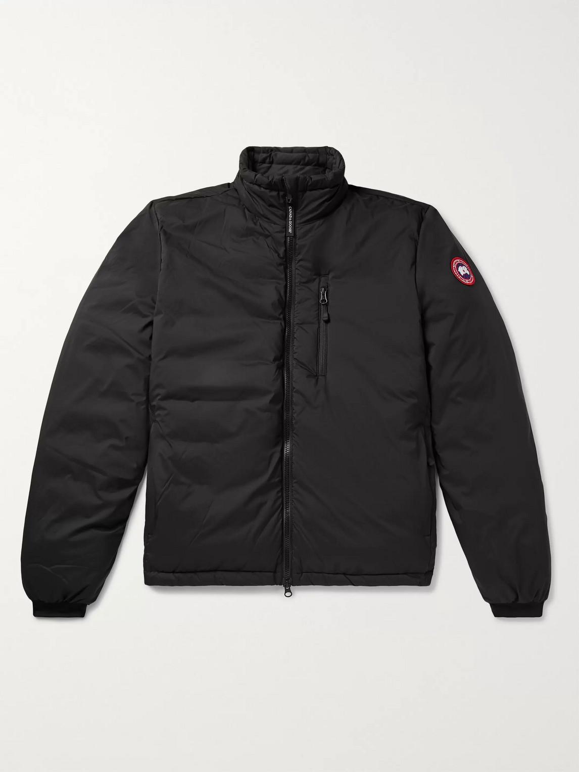canada goose - lodge nylon-ripstop down jacket - men - black