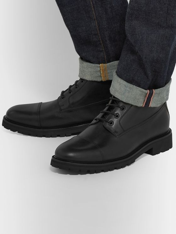 Belstaff Alperton 2.0 Leather Boots