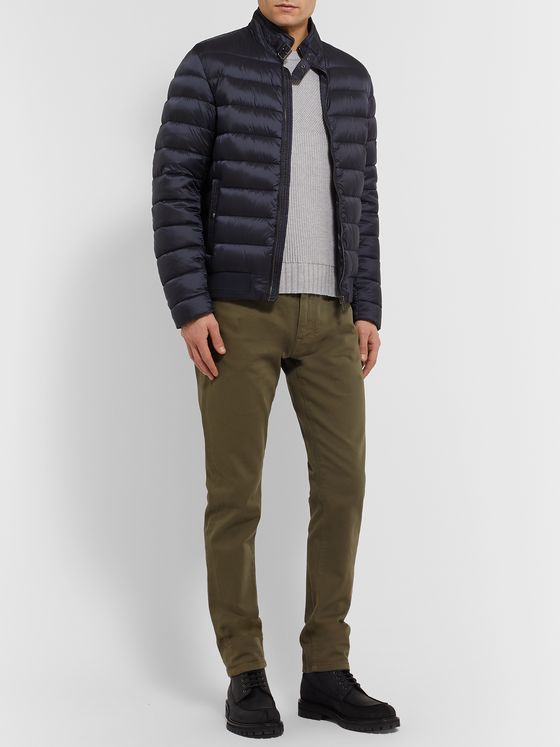 Belstaff Marine Slim-Fit Cotton Sweater