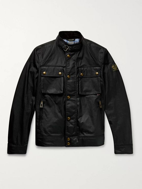 Belstaff Racemaster Waxed-Cotton Jacket