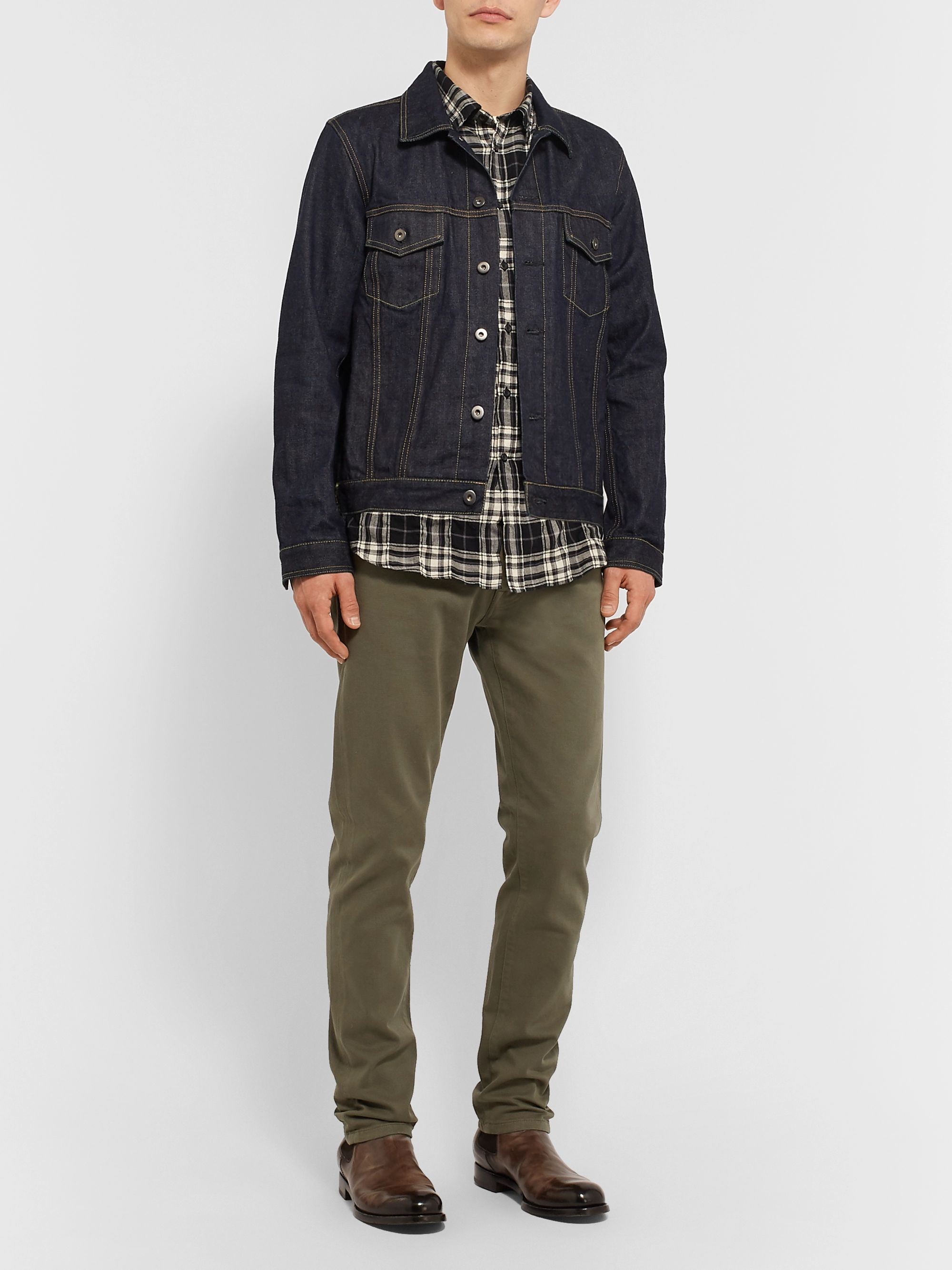 Belstaff Longton Slim-Fit Stretch-Denim Jeans
