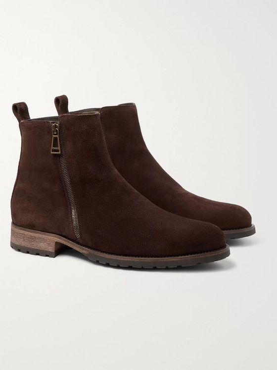 Men's Suede Shoes   Designer Shoes   MR PORTER