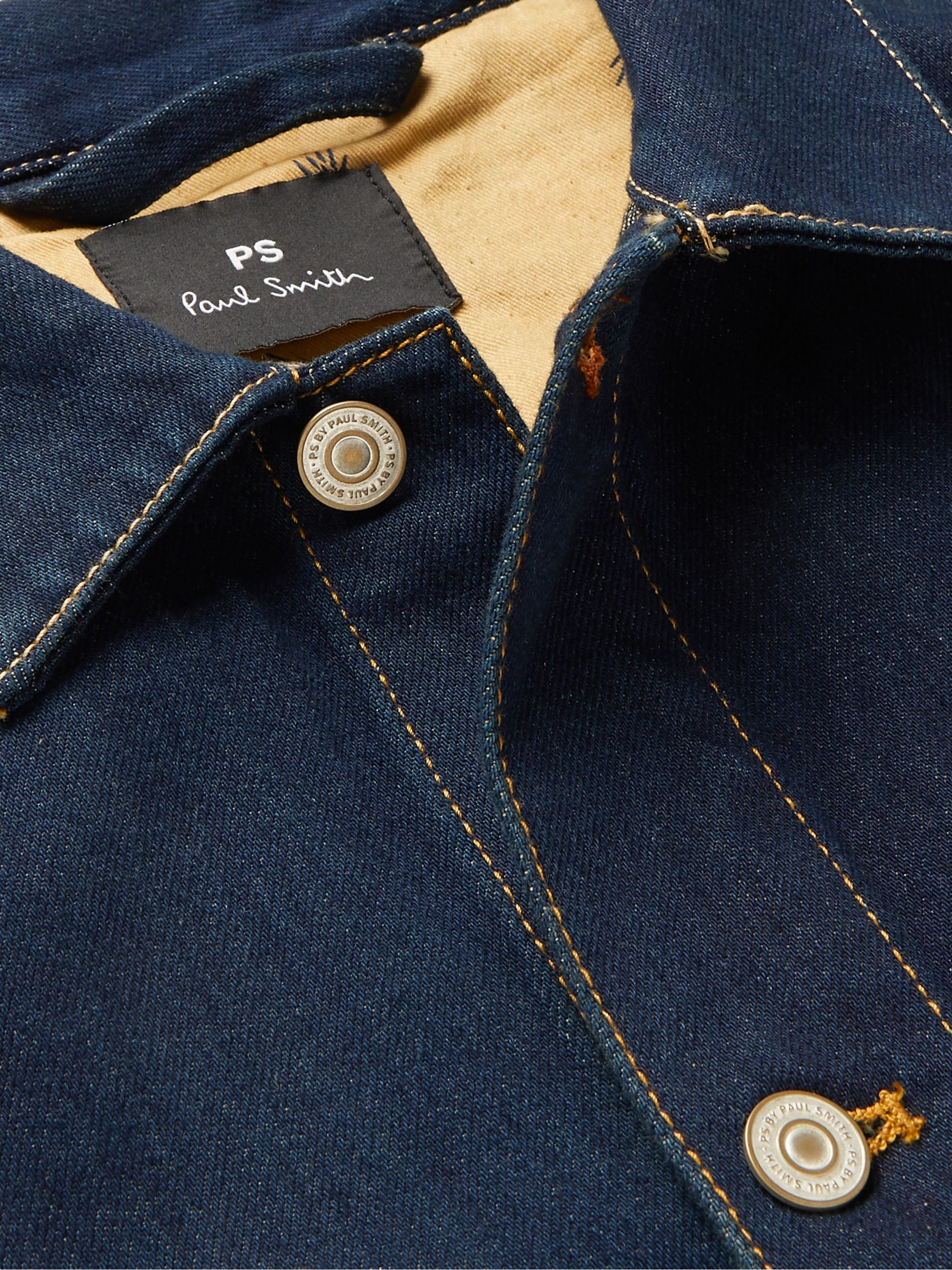 PS Paul Smith Embroidered Denim Jacket