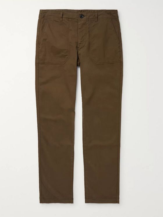 PS Paul Smith Cotton-Blend Trousers