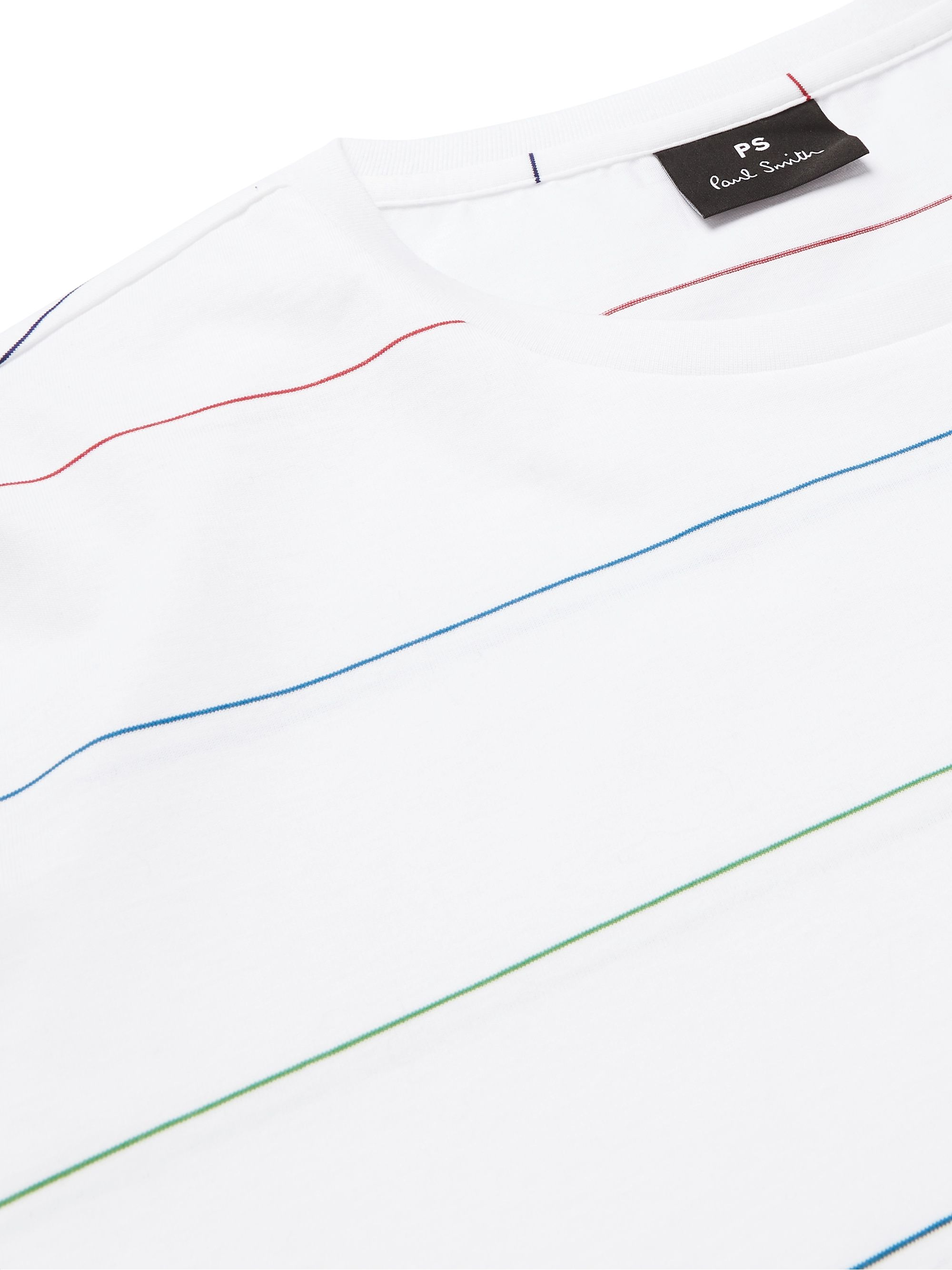 PS Paul Smith Striped Cotton-Jersey T-Shirt