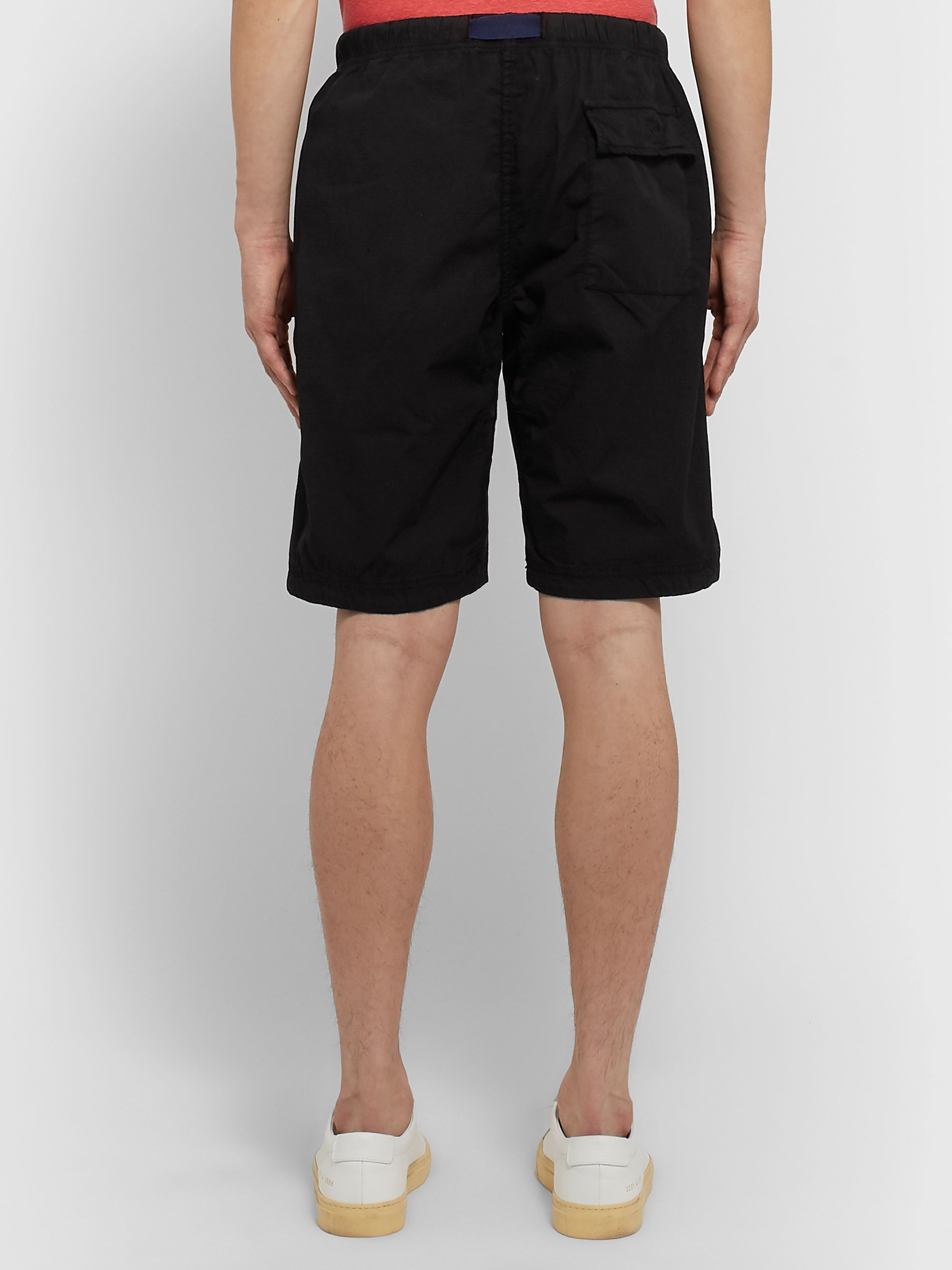 PS Paul Smith Belted Stretch-Ripstop Shorts