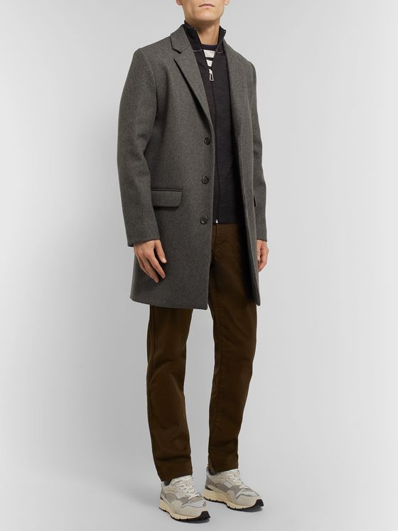 PS Paul Smith Slim-Fit Piped Merino Wool Zip-Up Cardigan