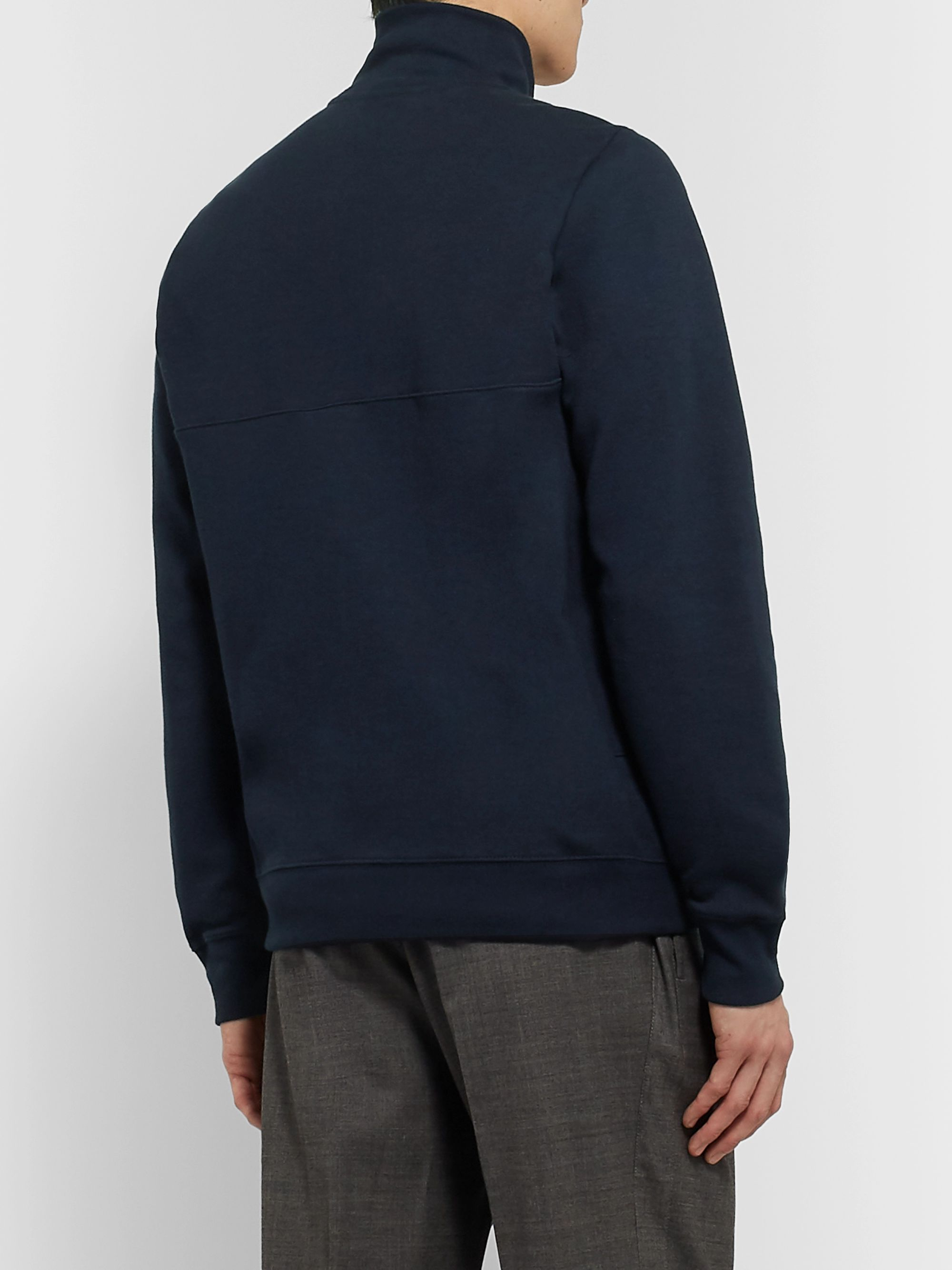 PS Paul Smith Cotton-Blend Jersey Track Jacket