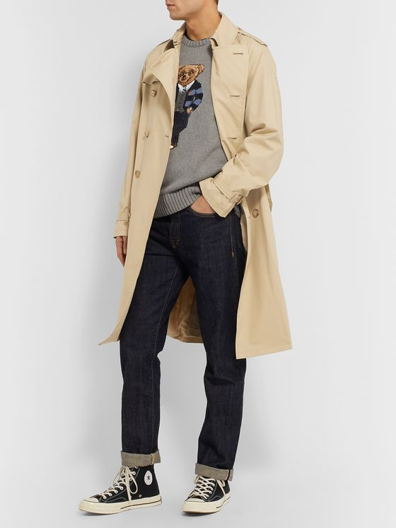 Polo Ralph Lauren Cotton-Blend Trench Coat