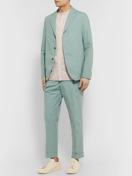 Officine Generale Armie Slim-Fit Cotton Suit Jacket