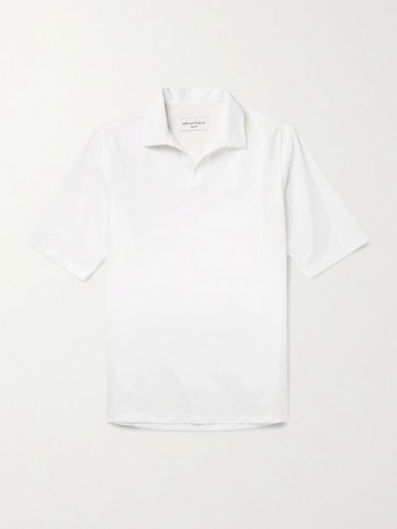 Officine Generale Yann Cotton-Poplin Shirt