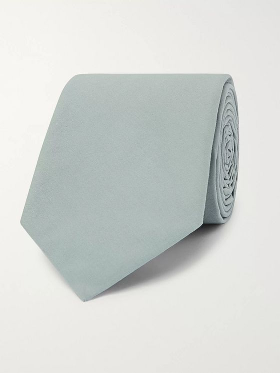 Officine Generale 7cm Cotton-Poplin Tie
