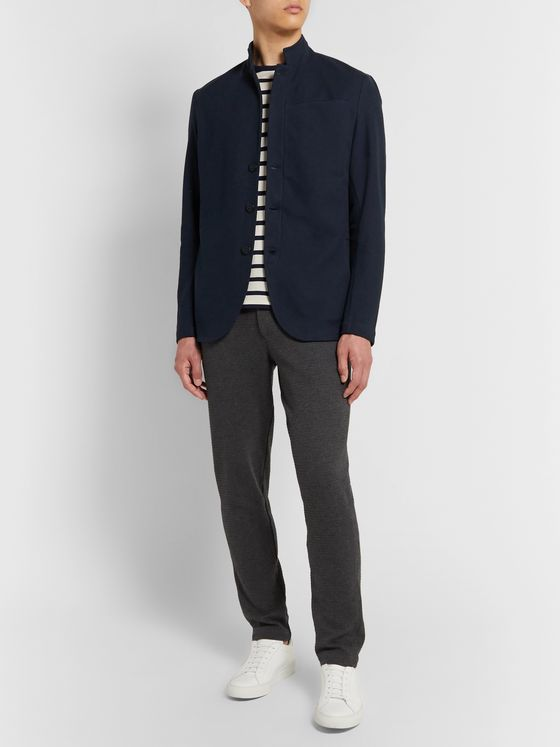 Hamilton and Hare Journeyman Cotton-Piqué Jacket