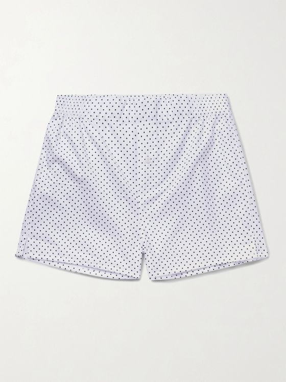 Hamilton and Hare Pack of 5 Cotton Boxer Shorts