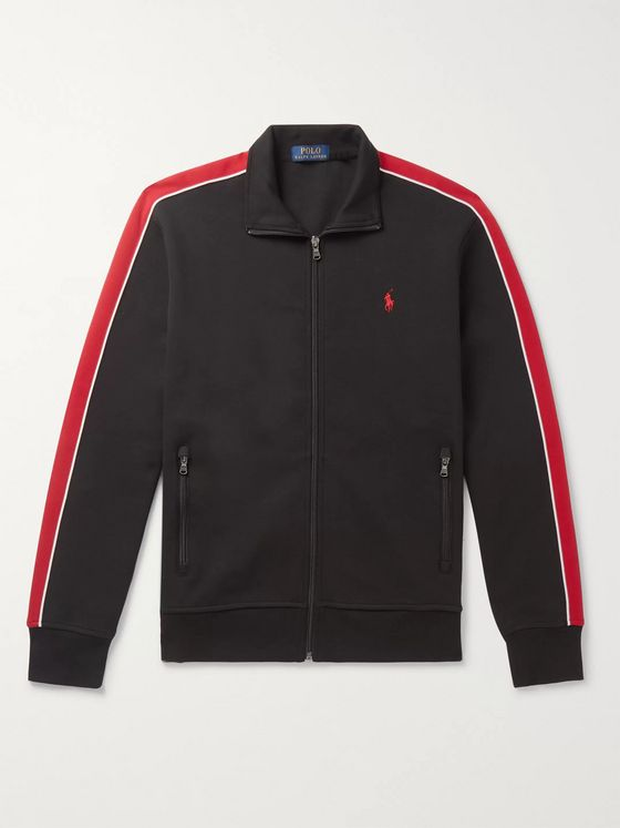 Polo Ralph Lauren Striped Jersey Track Jacket