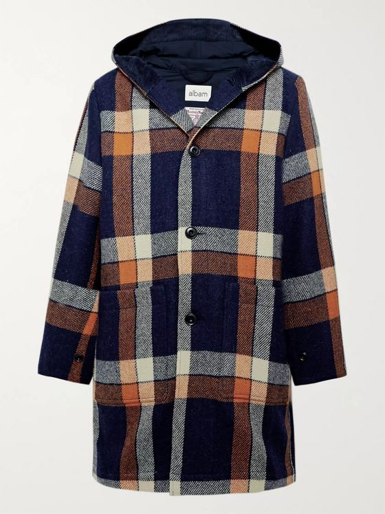 Albam Checked Harris Tweed Jacket