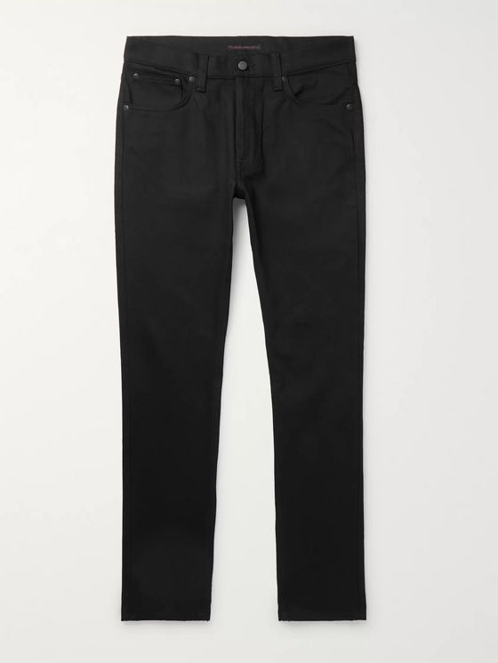 Nudie Jeans Limited Edition Lean Dean Slim-Fit Organic Denim Jeans