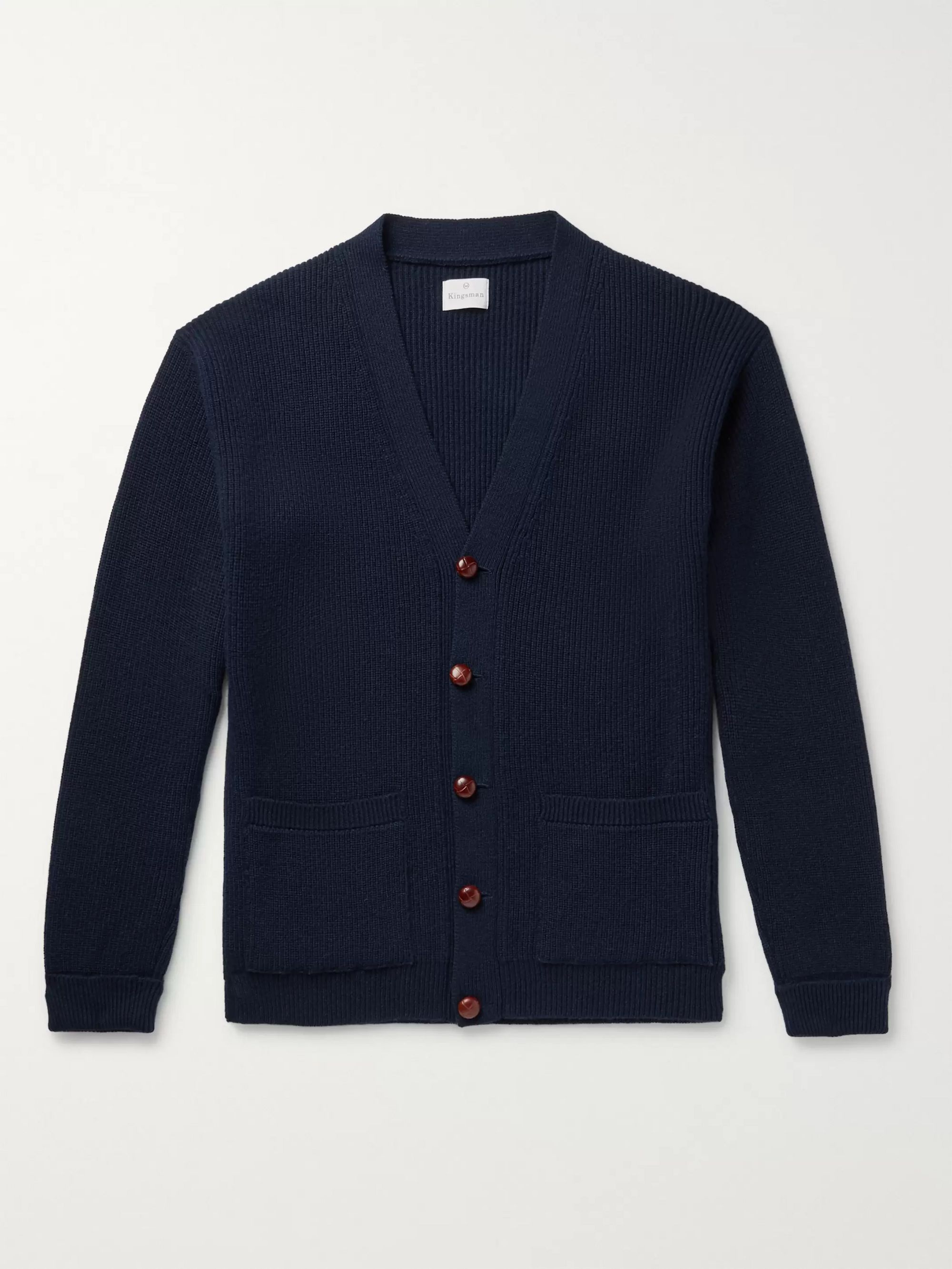 Kingsman Harry Ribbed Cashmere Sweater