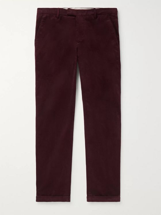 NN07 Scott Cotton-Corduroy Trousers