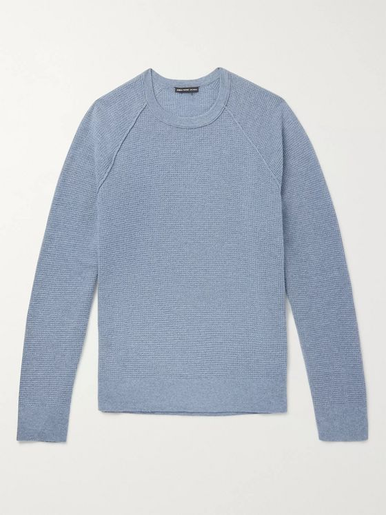 James Perse Textured Cashmere Sweater