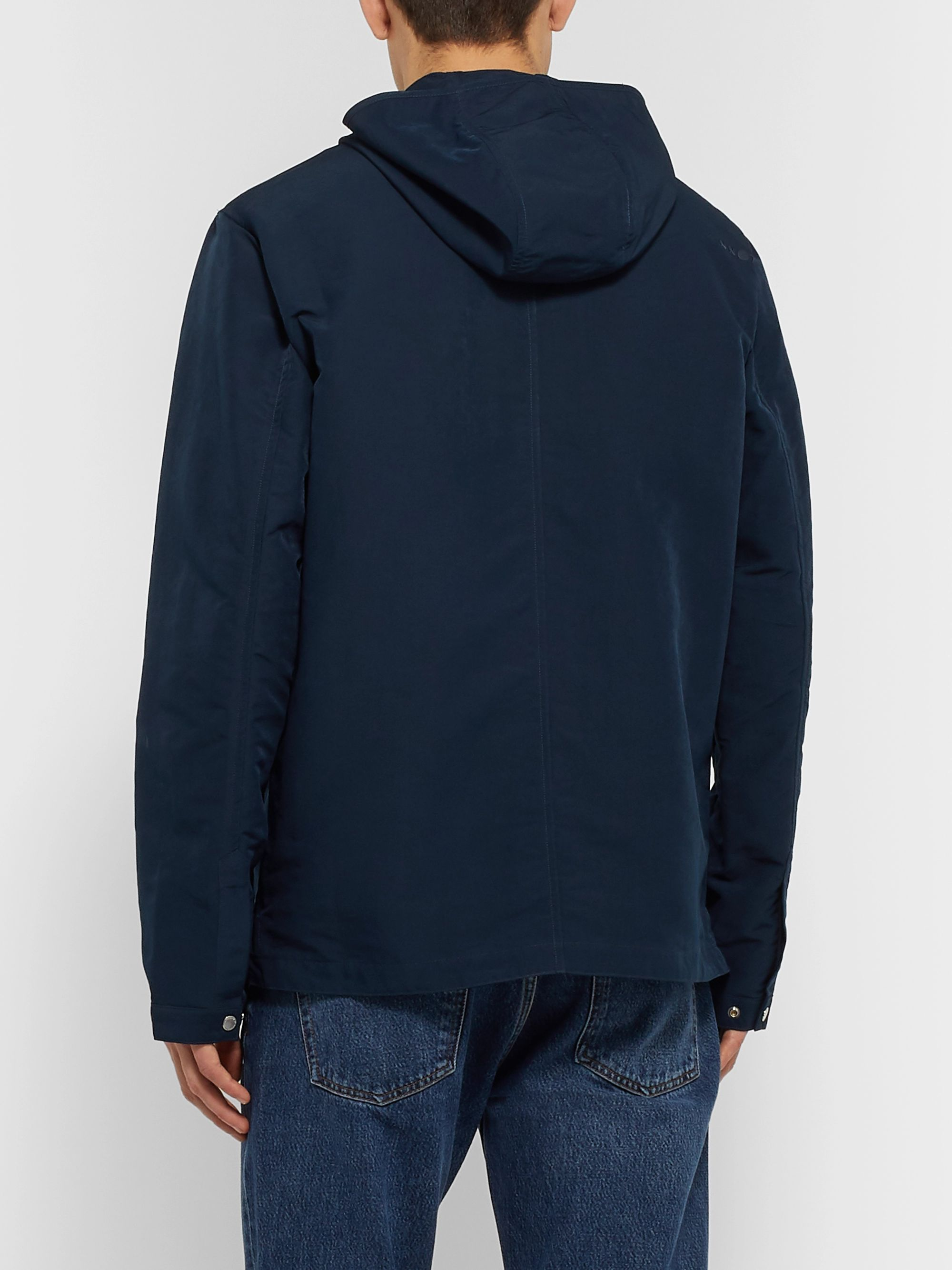 NN07 Jacques Matte-Shell Hooded Jacket