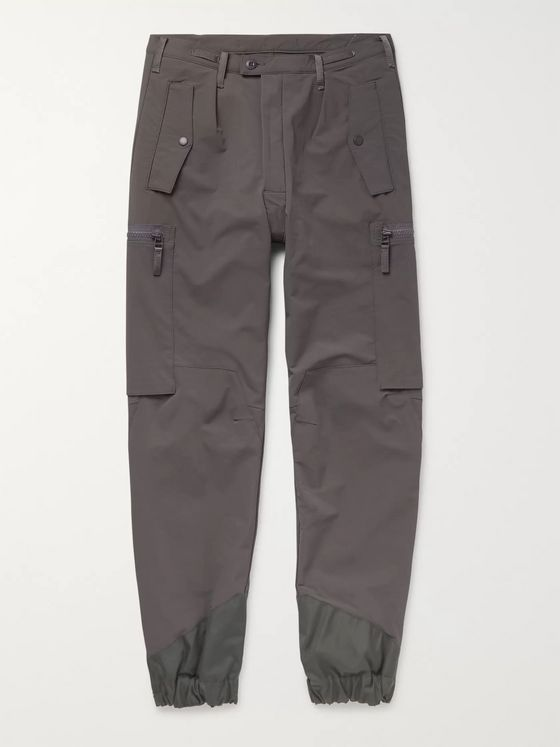Cav Empt Grey Ranger Shell Cargo Trousers