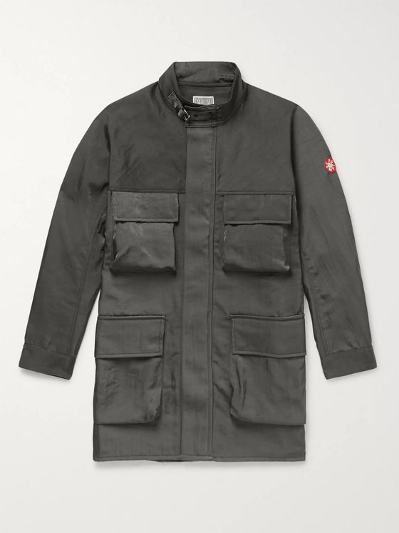 Cav Empt Oversized Appliquéd Tech-Twill Coat